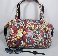 Цветная стильная вместительная женская сумка
