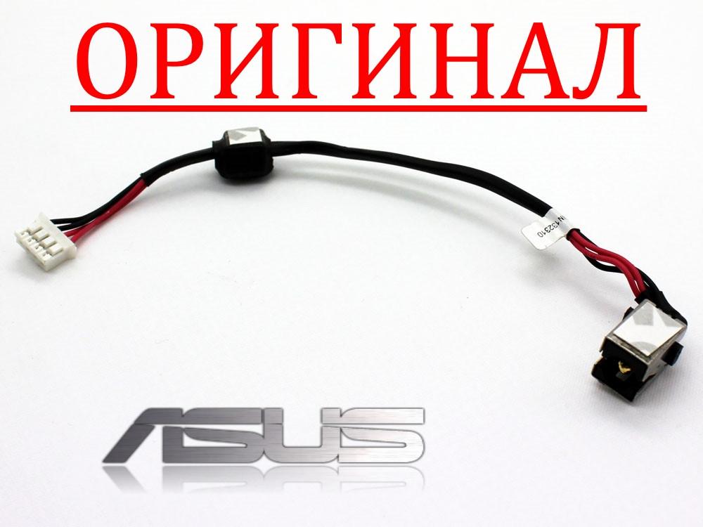 Разъем гнездо кабель питания ASUS A53 U53 K53 K53T K53TA K53E K53U X53 X53E DC jack DC30100FJ00