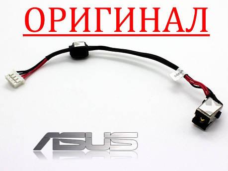 Разъем гнездо кабель питания ASUS A53 U53 K53 K53T K53TA K53E K53U X53 X53E DC jack DC30100FJ00, фото 2