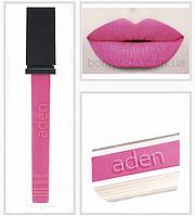 """Aden помада жидкая суперстойкая Pinky Аден косметика """"Розовый"""" № 17, фото 1"""