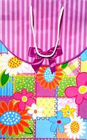 Пакет бумажный подарочный цветочный Р-1 Набор 13, фото 1