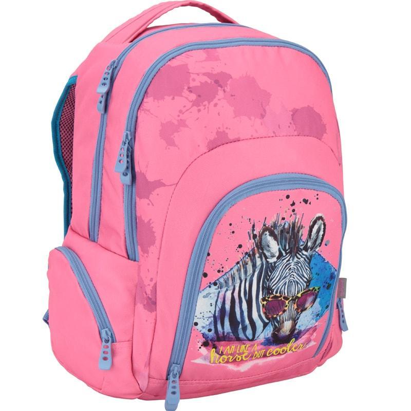 Розовый рюкзак для девочки Kite 1000 Junior-1