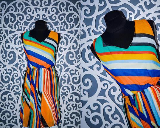 """Красивое женское платье """"шифон"""" и Плессеровка (на подкладке- не просвещается) 42, 44 размер, фото 2"""