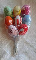 Декоративные  пасхальные яйца разные виды