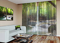 "Фото тюль ""Водопад"" (2,5м*4,5м, на длину карниза 3,0м)"