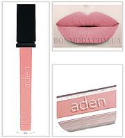 Aden матовая помада для губ суперстойкая кремовая 03 Rosie Brown № 3