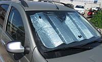 Солнцезащитная автомобильная шторка (на присосках)