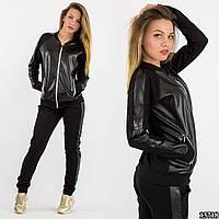 Спортивный костюм 13718 черный