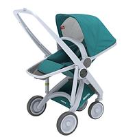 Greentom - Прогулочная коляска Upp Reversible, цвет Teal - серое шасси