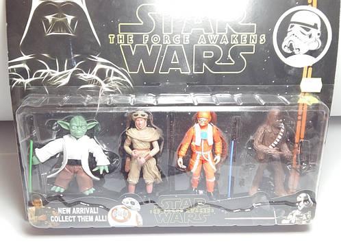 Супергерои Star Wars фигурки 4шт