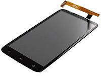 Дисплей (экран) + сенсор (тач скрин) HTC One X (S720e), One XL (X325e), G23 black  (оригинал)