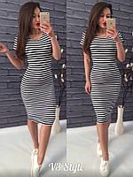 Платье летнее в полоску ! , фото 1