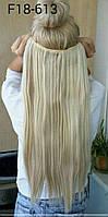 Одиночная широкая прядь цвет №18/613 мелирование блонд