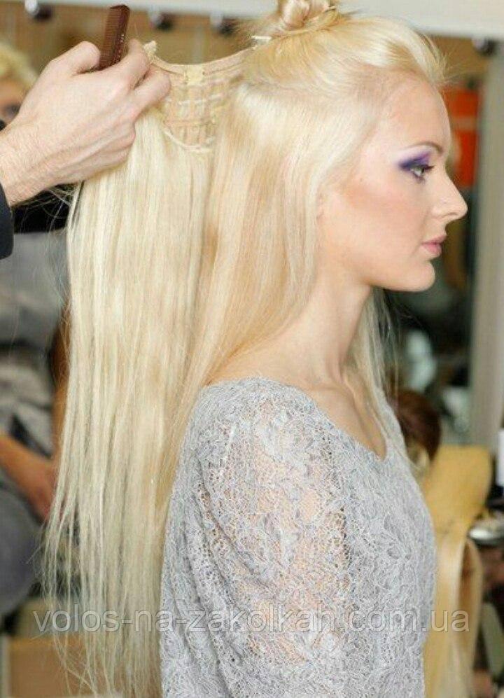 Одиночна широке пасмо колір №613 блонд