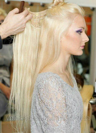 Одиночна широке пасмо колір №613 блонд, фото 2