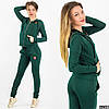 Спортивный костюм 13706 зелёный