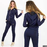 Спортивный костюм 13706 темно-синий
