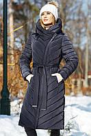 """Пальто женское зимнее """"Фелиция""""  больших размеров"""