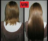 Волосы на заколках цвет №8