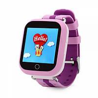 Умные детские часы с GPS трекером Smart Baby Watch Q100S/Q750 Розовые