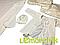 Набор для крещения молочный (крыжма+рубашка на завязочках+чепчик с крестиком) байковый, фото 2