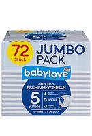 Подгузники Babylove Premium Джамбо
