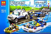 Конструктор Bela 10421 (аналог Lego City 60045) Полицейский патруль 409 деталей
