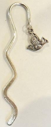Закладка металева-хвилька №7, фото 2