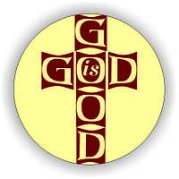 Значок круглий №48 God  is good