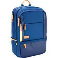 Синий рюкзак для ноутбука 1014 Kite&More-2