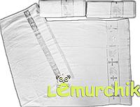 Полотенце для крещения с вышивкой Турция, серебряное