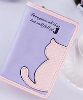 Кошелек женский маленький котенок, фото 1