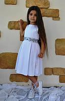 """Нарядное белое платье """" Бриджит"""" для девочки"""