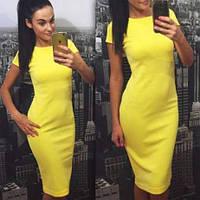 Платье футляр, платье с коротким рукавом, разные цвета и размеры: от 42 до 50р. Розница, опт в Украине.