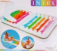 Надувное кресло-матрас Intex 58847