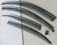 Volkswagen Jetta Mk 6 ветровики дефлекторы окон ASP с молдингом нержавеющей стали / sunvisors