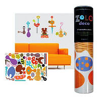 Zolo Deco Wall Decor Stickers (многоразовые наклейки), ZOLO