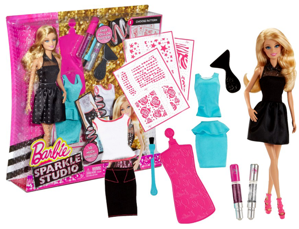 "Набор кукла Барби ""Блестящая Студия"" Barbie Sparkle Studio Doll"