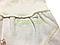 Комплект для хрещення і повсякденного носіння (чоловічок+сорочечка+повзунки+2 шапочки) Янголятко 56р., фото 3