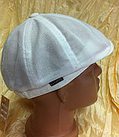 Льняная кепка с рисунком для мальчика раз 48 52