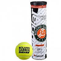 Теннисные мячи Babolat Roland Garros Clay X4