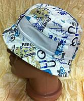 Хлопковая панамка для мальчиков и девочек размер 48-50