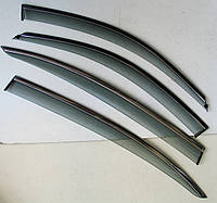 BMW 3 серии F30 ветровики дефлекторы окон ASP с молдингом нержавеющей стали / sunvisors
