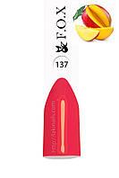 Гель-лак FOX № 137 (кораллово-розовый), 6 мл