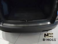 Накладка на задний бампер Honda CR-V IV 2013- из нержавеющей стали