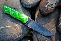 "Нож ""Халк"" 130х30х4мм с ручкой из акрила перламутрового"