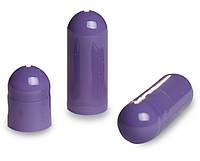 Пустые желатиновые капсулы Размер 00 Цвет Фиолетовый