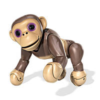 Zoomer Інтерактивна іграшка-мавпочка шимпанзе Interactive Robot Pet Chimp