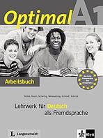 Optimal A1 Arbeitsbuch + CD. Lehrwerk für Deutsch als Fremdsprache (проект №20)