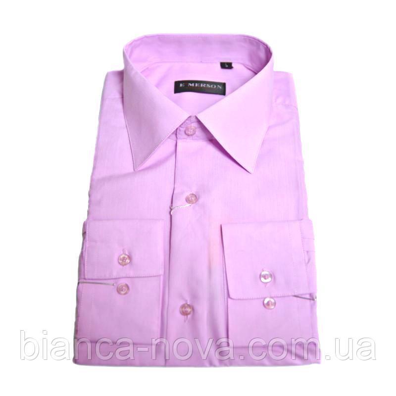 Рубашка мужская E'MERSON, розовая.
